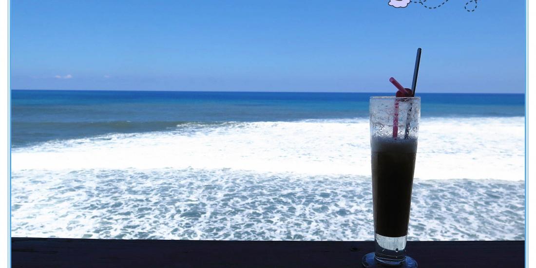 花蓮豐濱【來去海邊玉石咖啡民宿】海邊咖啡館。咖啡喝到暈