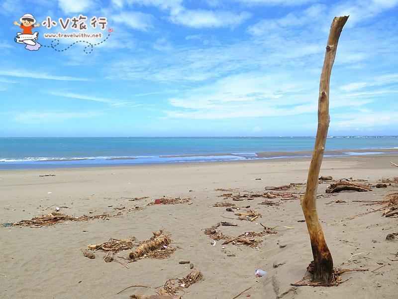 台東卑南【杉原海灘】秋天好去處 ● 原來天空、大海這樣藍 ● 好天氣、溜狗去!